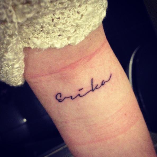tatoveringer med navne